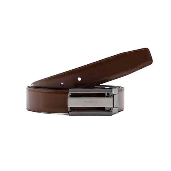 Cinturón reversible caballero