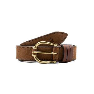 Cinturón piel señora
