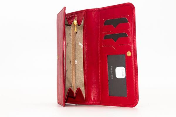 billetera de mujer en piel carla sade