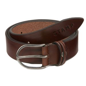 Cinturón de piel