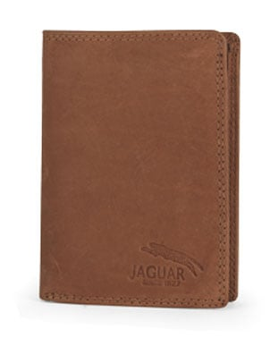 cartera de piel marca jaguar